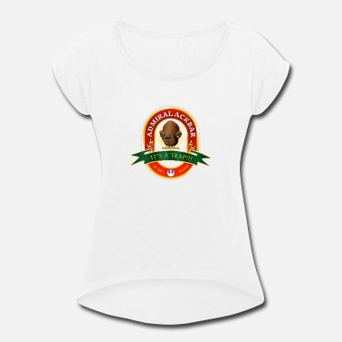 Alexander Beer Wars - Ackbar - Women's Rolled Sleeve T-Shirt