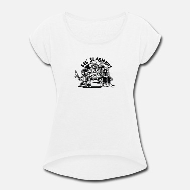 Team Zombie Zombie Team - Women's Roll Cuff T-Shirt