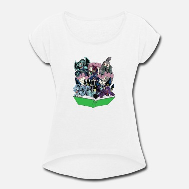 Toons World of Toons - Women's Roll Cuff T-Shirt