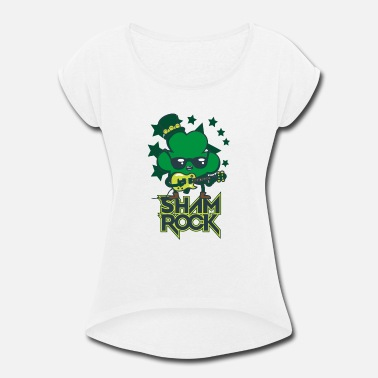 Shamrock Shamrock - Women's Rolled Sleeve T-Shirt