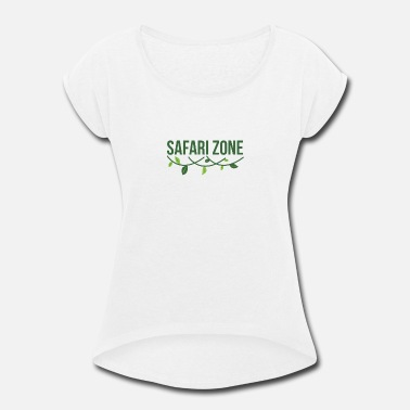 Safari Safari Zone - Safari - Women's Rolled Sleeve T-Shirt