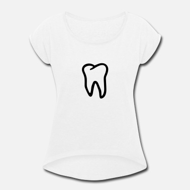Tooth Tooth - Women's Rolled Sleeve T-Shirt