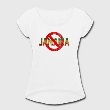 jamaica coalition - Women's Roll Cuff T-Shirt