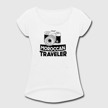 Moroccan Traveler - Women's Roll Cuff T-Shirt