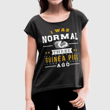 Guinea Pigs - Women's Roll Cuff T-Shirt