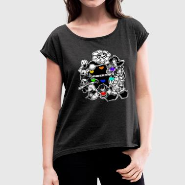 undertale - Women's Roll Cuff T-Shirt