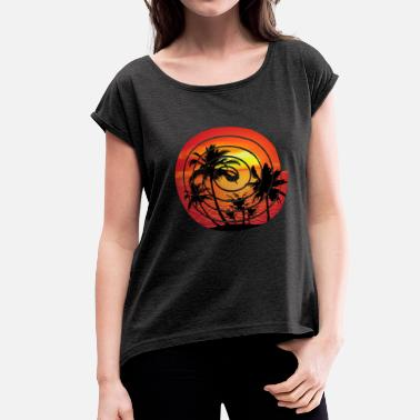 Picture Sunset Picture - Women's Rolled Sleeve T-Shirt