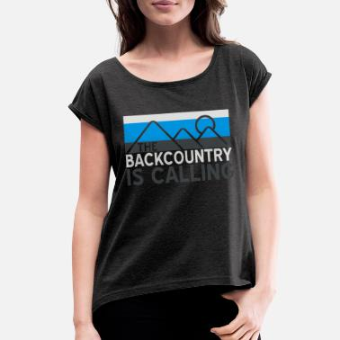Backcountry Backcountry is Calling - Women's Rolled Sleeve T-Shirt