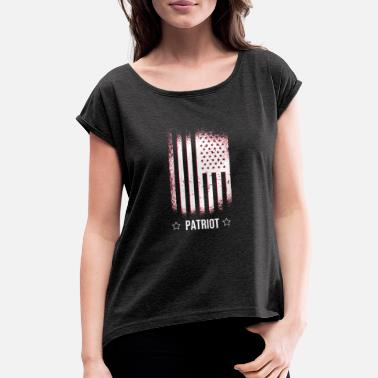 Patriot - Women's Rolled Sleeve T-Shirt
