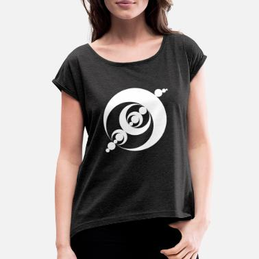 Circle crop circles 37 - Women's Rolled Sleeve T-Shirt