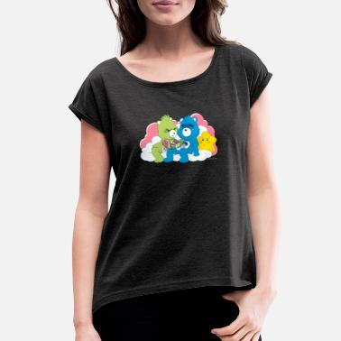 Care Care Bears Ink T shirt - Women's Rolled Sleeve T-Shirt