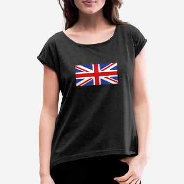 Union Jack Union Jack - Women's Rolled Sleeve T-Shirt