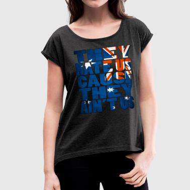 Australia - Women's Roll Cuff T-Shirt