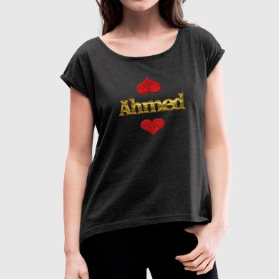Ahmed - Women's Roll Cuff T-Shirt