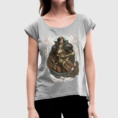 rpg - Women's Roll Cuff T-Shirt