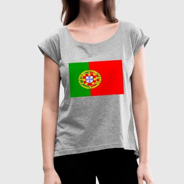 portugal - Women's Roll Cuff T-Shirt