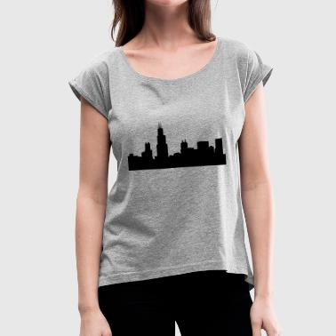 Chicago - Women's Roll Cuff T-Shirt