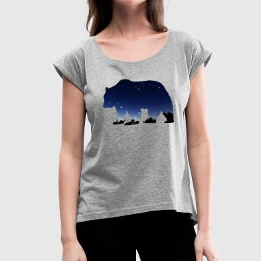 Astronomy The Great Bear - Women's Roll Cuff T-Shirt