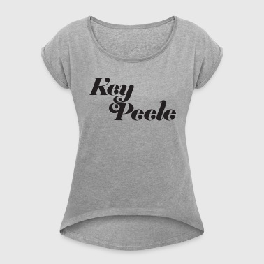 keypeele - Women's Roll Cuff T-Shirt