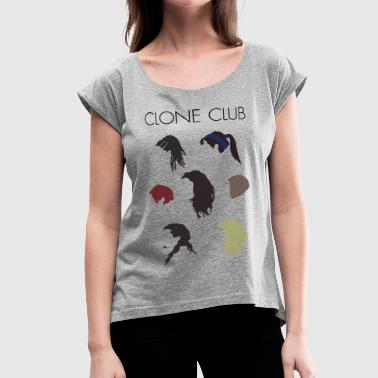 Clone Club Clone Club - Women's Roll Cuff T-Shirt