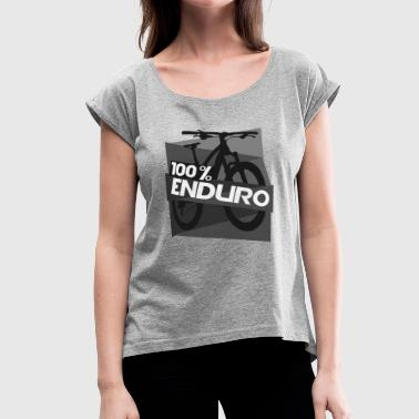 enduro 100 - Women's Roll Cuff T-Shirt