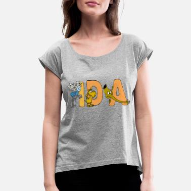 Ida Ida - Women's Rolled Sleeve T-Shirt