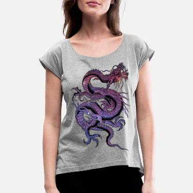 Dragon Dragon - Women's Rolled Sleeve T-Shirt