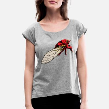 Bug Bug - Women's Rolled Sleeve T-Shirt