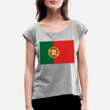 Portugal Sports portugal - Women's Rolled Sleeve T-Shirt