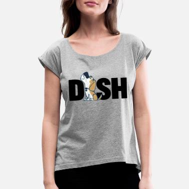 Dish The Dish Tee - Women's Rolled Sleeve T-Shirt