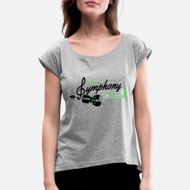 Symphony Seattle Symphony - Women's Rolled Sleeve T-Shirt