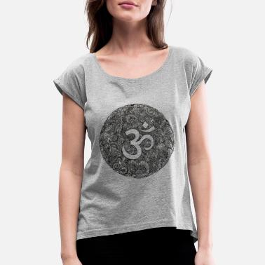 Om Om - Women's Rolled Sleeve T-Shirt