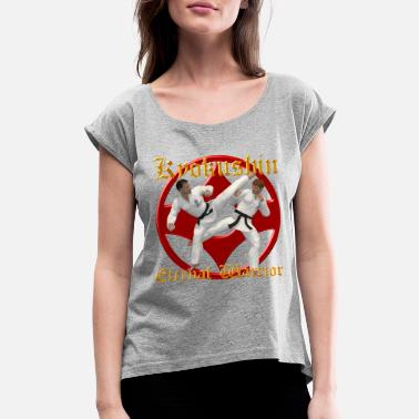 Kyokushin Kyokushin Warriors - Women's Rolled Sleeve T-Shirt