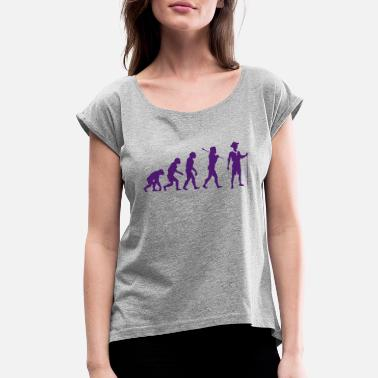 Evolution Scout The scout Evolution - Women's Roll Cuff T-Shirt