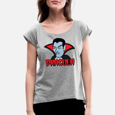 Dracula DRACULA - Women's Rolled Sleeve T-Shirt