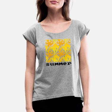 Sumu Lee Summer - Women's Rolled Sleeve T-Shirt