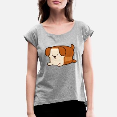 Dog bread - Women's Rolled Sleeve T-Shirt