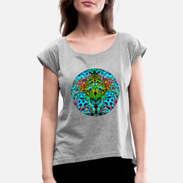 Sphere Psychedelic Sphere - Women's Rolled Sleeve T-Shirt