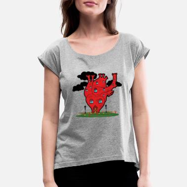 Fantasy fantasy - Women's Rolled Sleeve T-Shirt