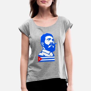 Cuba T-shirt effet vieilli rétro cubain CASTRO CHE Design Haut Enfants Adultes Enfants
