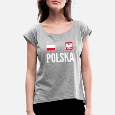 Polish Football Jersey Poland Soccer Jersey World Football Cup Design -  Women  39 s 6b12b4726a