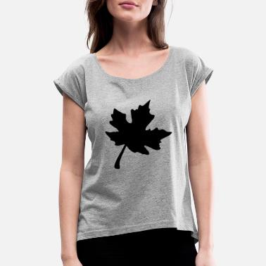 Maple Leaf Maple leaf - Women's Rolled Sleeve T-Shirt