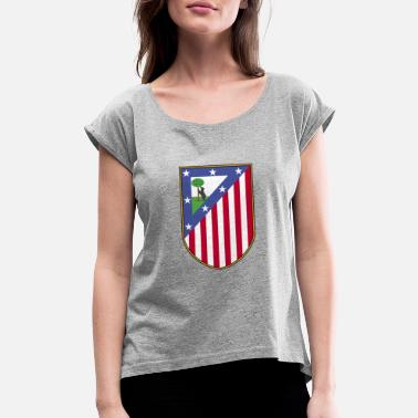 Diego Forlan Atlético Madrid - Women's Rolled Sleeve T-Shirt