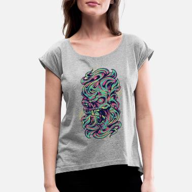 Medieval Medieval Monster - Women's Rolled Sleeve T-Shirt