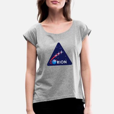 Galaxy Nasa nasa - Women's Roll Cuff T-Shirt