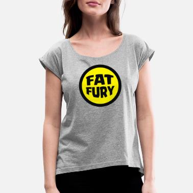 Fat Fury Herbie - Women's Rolled Sleeve T-Shirt