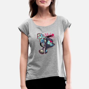 Sexy Service Clean Sexy - Women's Roll Cuff T-Shirt