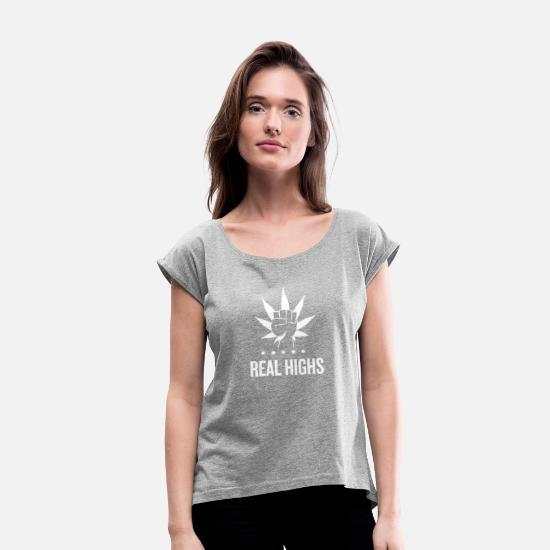 Seller T-Shirts - best seller funny tshirt - Women's Rolled Sleeve T-Shirt heather gray