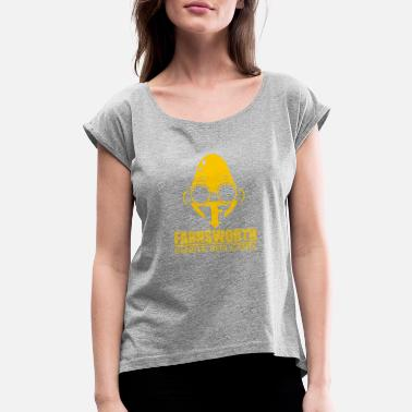 Farnsworth Farnsworth Genetic Replicants - Women's Roll Cuff T-Shirt