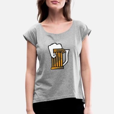 Brewed Brews - Women's Rolled Sleeve T-Shirt